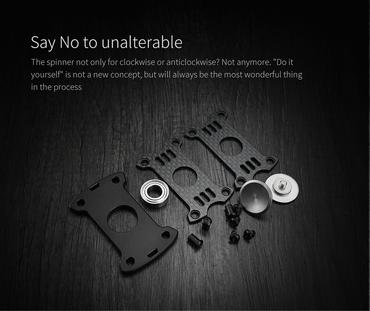 MecArmy GP1 Spinner aus hochwertigem Material - titanium sandblasted – Bild 9