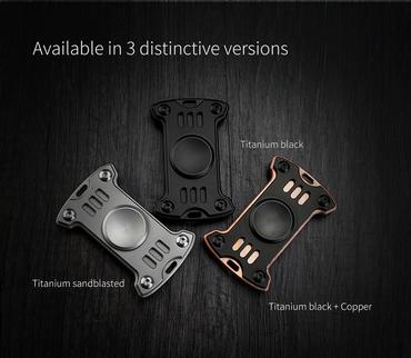 MecArmy GP1 Spinner aus hochwertigem Material - titanium sandblasted – Bild 2