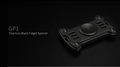 MecArmy GP1 Spinner aus hochwertigem Material - titanium black