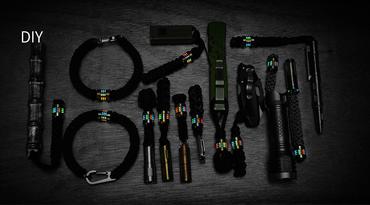 MecArmy FFX-Alpha Titanperle für DIY Bracelets oder Lanyards – Bild 5