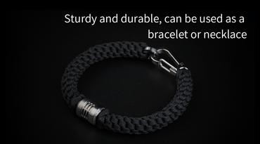 MecArmy FFX-Alpha Titanperle für DIY Bracelets oder Lanyards – Bild 6