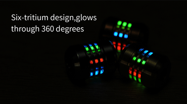 MecArmy FFX-Alpha Titanperle für DIY Bracelets oder Lanyards – Bild 7