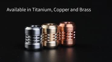 MecArmy FFX-Alpha Titanperle für DIY Bracelets oder Lanyards – Bild 2