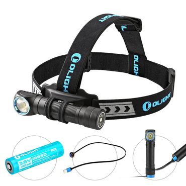 Olight H2R Nova - 2300 Lumen EDC und Head Light - cool white aufladbar! – Bild 1