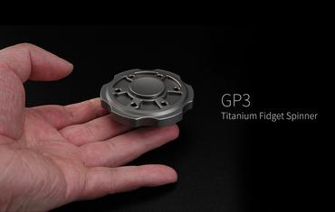 MecArmy GP3 Spinner  aus hochwertigem Material - titanium sandblasted – Bild 2