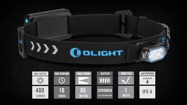 Olight HS2 400 Lumen die optimale Lauflampe – Bild 2