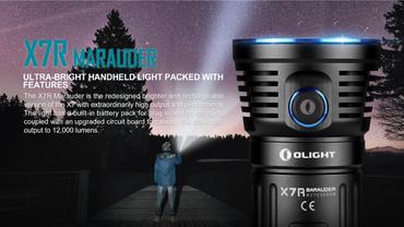 Olight X7R Marauder 3x XHP-70 LED bis 12000 Lumen aufladbar – Bild 4