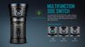 Olight X7R Marauder 3x XHP-70 LED bis 12000 Lumen aufladbar