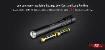 Klarus P20 Stiftlampe Penlight mit 220 Lumen  – Bild 8