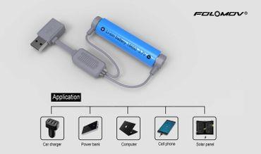 Folomov A1 Kabel Ladegerät oder Powerbank – Bild 2