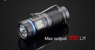 Niteye E20R Taschenlampe mit SST 40 N4 BC LED mit USB ladbar für 1X CR123 Batterie – Bild 1