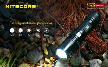 Nitecore Explorer EC23 mit XHP35 HD E2 LED mit 1800 Lumen – Bild 6
