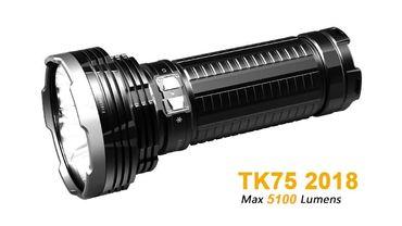 Fenix TK75 4x XH-P35 (2018) Cree LED 5100 Lumen - random strobe