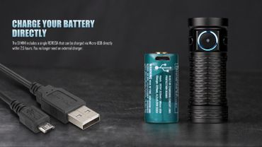 Olight S1 Mini mit 450 Lumen HCRI CW - EDC Light – Bild 3