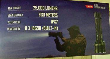 Olight X9R Marauder 6x XHP-70 LED bis 25000 Lumen – Bild 6