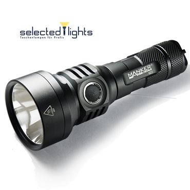 selected-lights Manker U22 Bundle inkl. 21700er Akku mit 1500 Lumen der Pocket Thrower – Bild 1