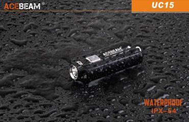 Acebeam UC15 Schlüsselbundlampe mit 1000 LUMEN WEISS ROT UND UV LICHT – Bild 5
