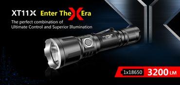 Klarus XT11X XH-P70.2 LED 3200 Lumen aufladbare universal Taschenlampe – Bild 1