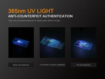 FENIX LD05 V2.0 EDC mit UV LIGHT Penlight Taschenlampe  – Bild 5