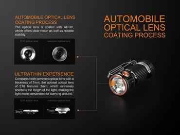Fenix E16 mini EDC Taschenlampe mit maxi Output – Bild 5