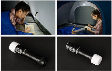 selected-lights Wuben E05 Taschenlampe mit XP-L HI LED 900 Lumen für 1x 14500 Akku – Bild 5