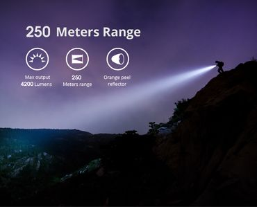 selected-lights Wuben T70 4200 Lumen mit 26650 Akku – Bild 4