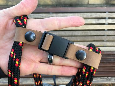 Sternum Strap genäht mit Magnetverschluss für loctote flak sak bag – Bild 1