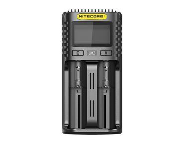 Nitecore UM2 USB 2 Schacht Ladegerät für Li-Ionen Akkus