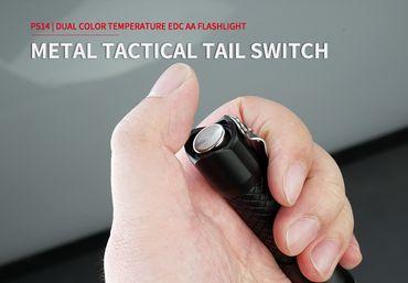 MecArmy PS14 Aluminium 1200 Lumen - für AA Batterie oder 14500er Akku – Bild 6