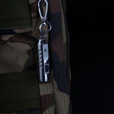 selected-lights Rovyvon Aurora A2 Mini USB Edelstahl aufladbare Schlüsselbundlampe – Bild 8
