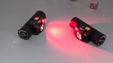 AceBeam H30 Rot/grün - 6500K mit XH-P70.2 CW LED 4000 Lumen – Bild 5