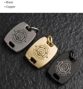 MecArmy CMP2-C Kompass mit Kette aus Kupfer – Bild 6
