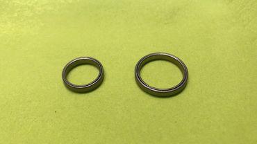 MecArmy CH1 EDC Titan Ringe 2 Stück – Bild 1