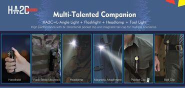 Klarus HA2C  Multifunktions- Kopflampe 3200 Lumen – Bild 5