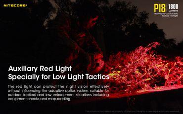NiteCore P18 new concept taktische Taschenlampe mit 1600 Lumen für den Polizeieinsatz – Bild 2