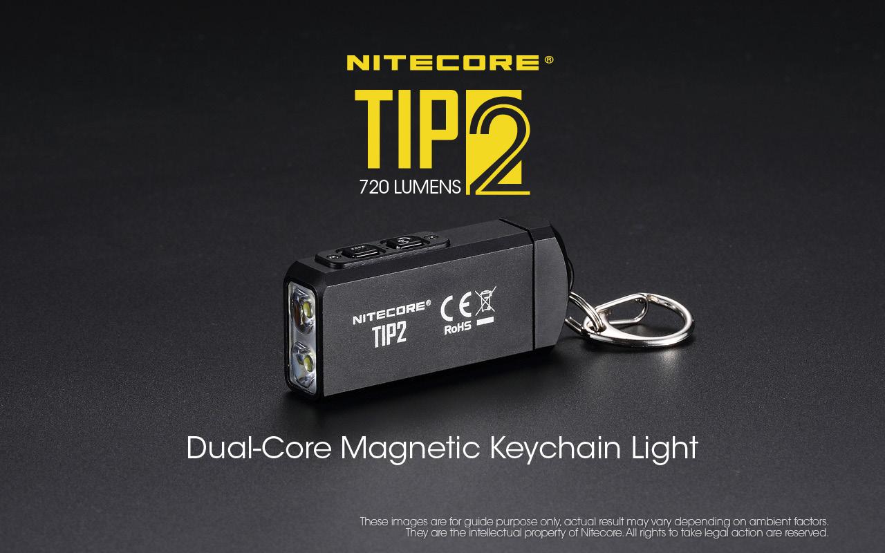 sale online low price sale new design Nitecore TIP2 720 Lumen aufladbare Schlüsselanhängerlampe | selected-lights