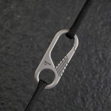 CH6K Mini Titanium Carabiner and Keyring Kit mit 6 Stk und CH1 Ring – Bild 7