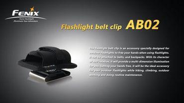 Fenix Stretch Holster  - AB02 mit Gürtelclip Metall