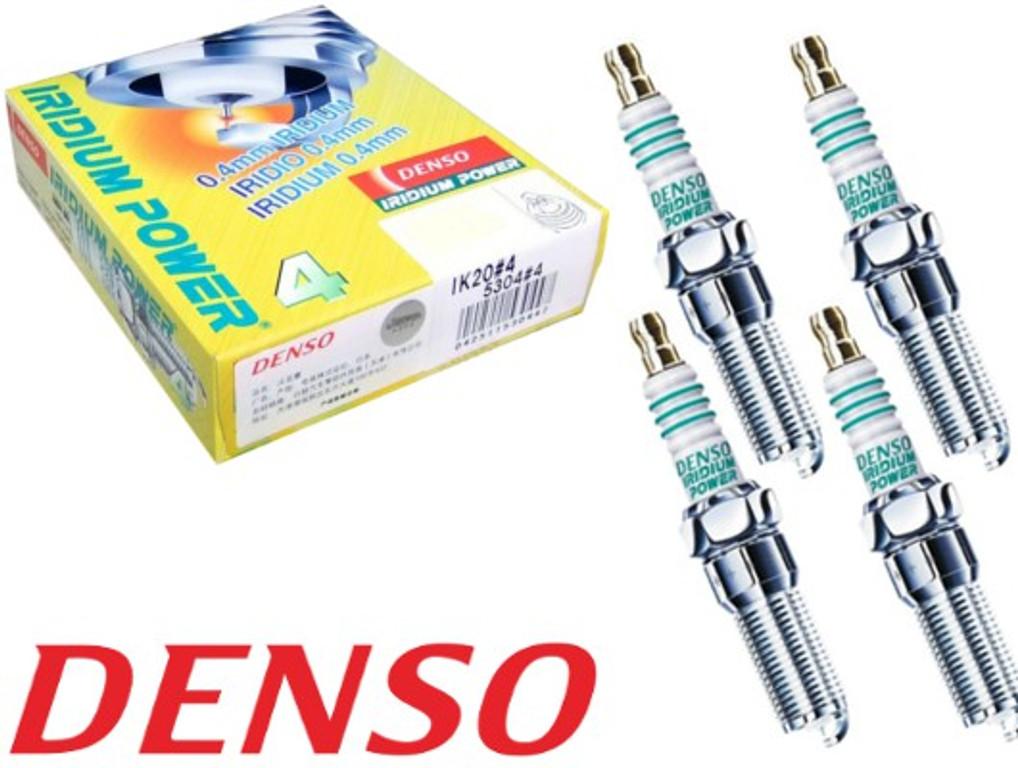 DENSO I04 Iridium Power IK20 5304 Zündkerzen, 4 Stück