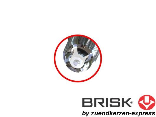 BRISK Premium Racing BOR14LGS 3093 Zündkerzen, 2 Stück