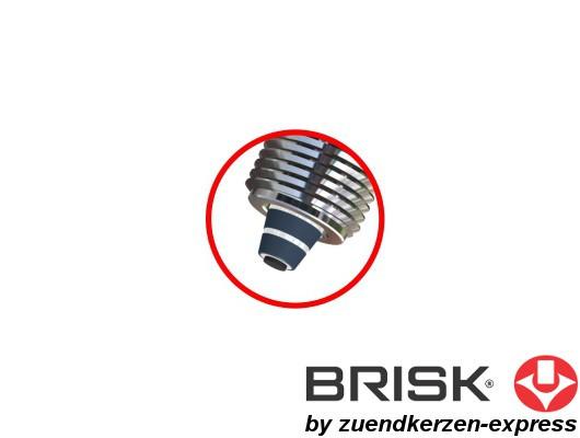 BRISK Premium Racing LR15ZC 1129 Zündkerzen, 6 Stück