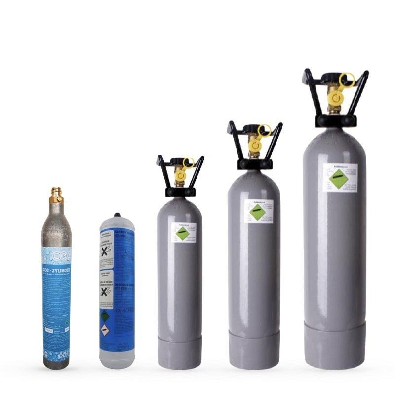 Wo können die CO2 Flaschen wieder befüllt werden?