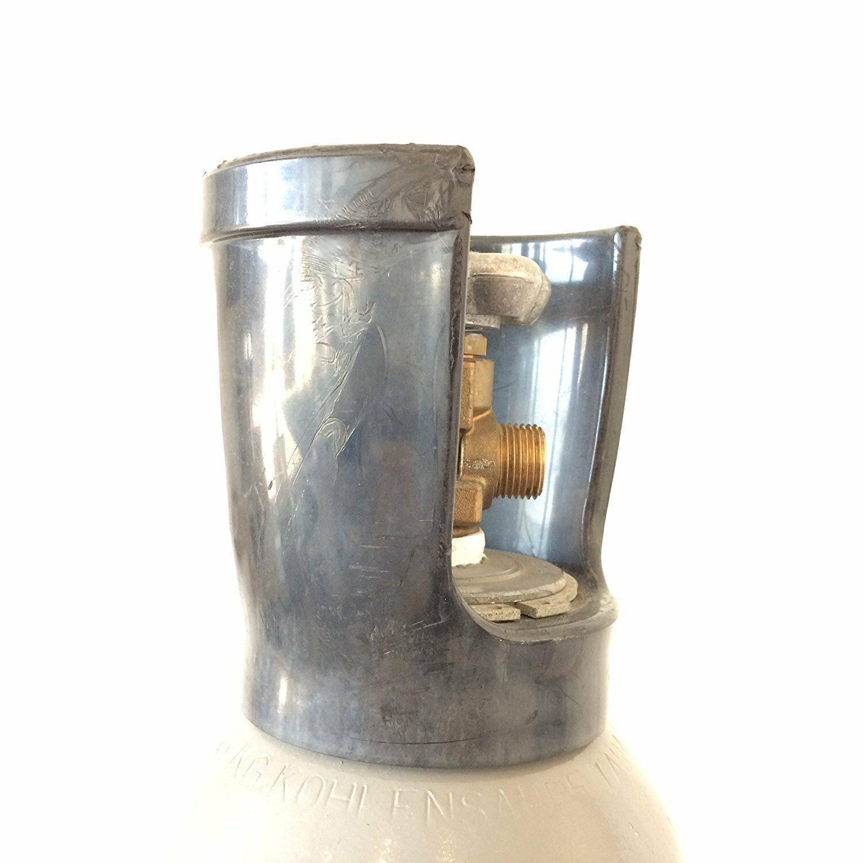 1 x CO2 Zylinder geeignet für Grohe Blue Home 1 x Umfülladapter Soda Stream