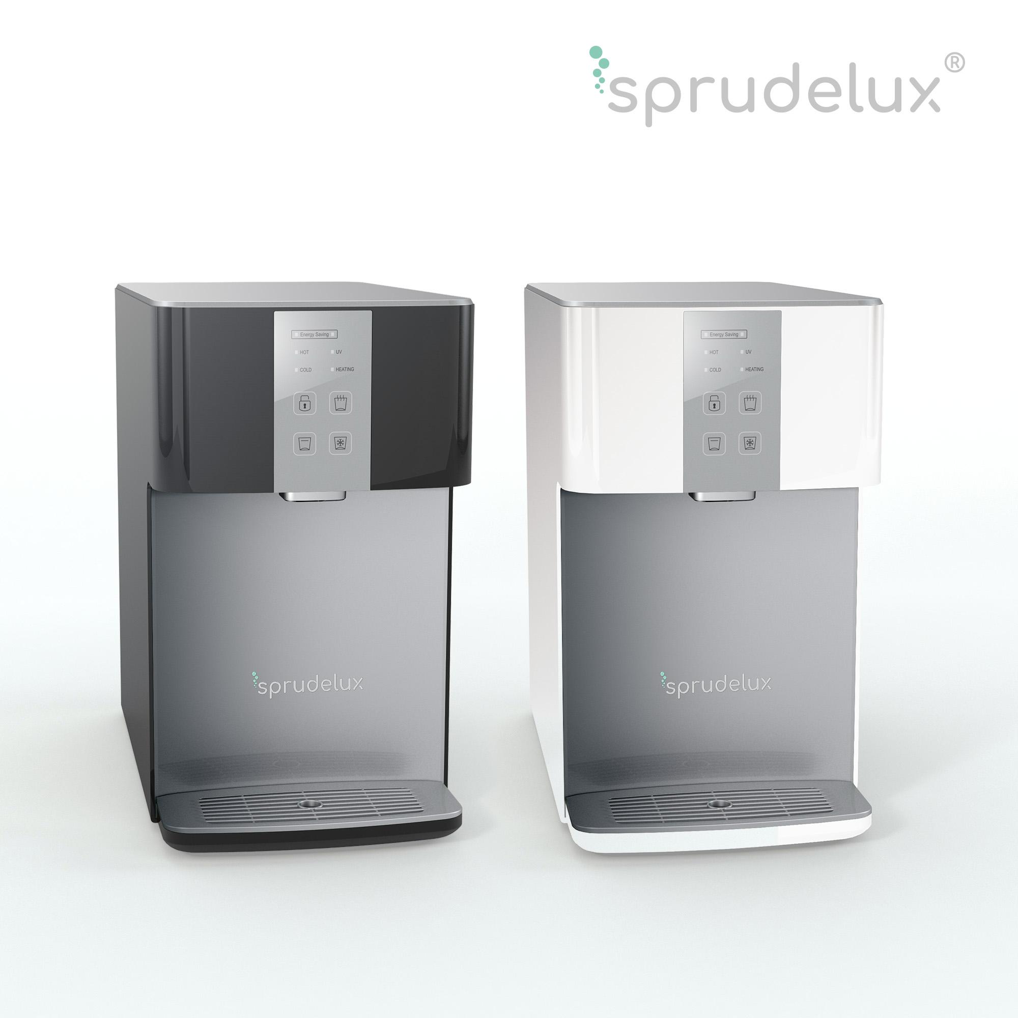 SPRUDELUX® Auftisch-Tafelwasseranlage BLUE DIAMOND 3.0 UV inklusive Filtereinheit