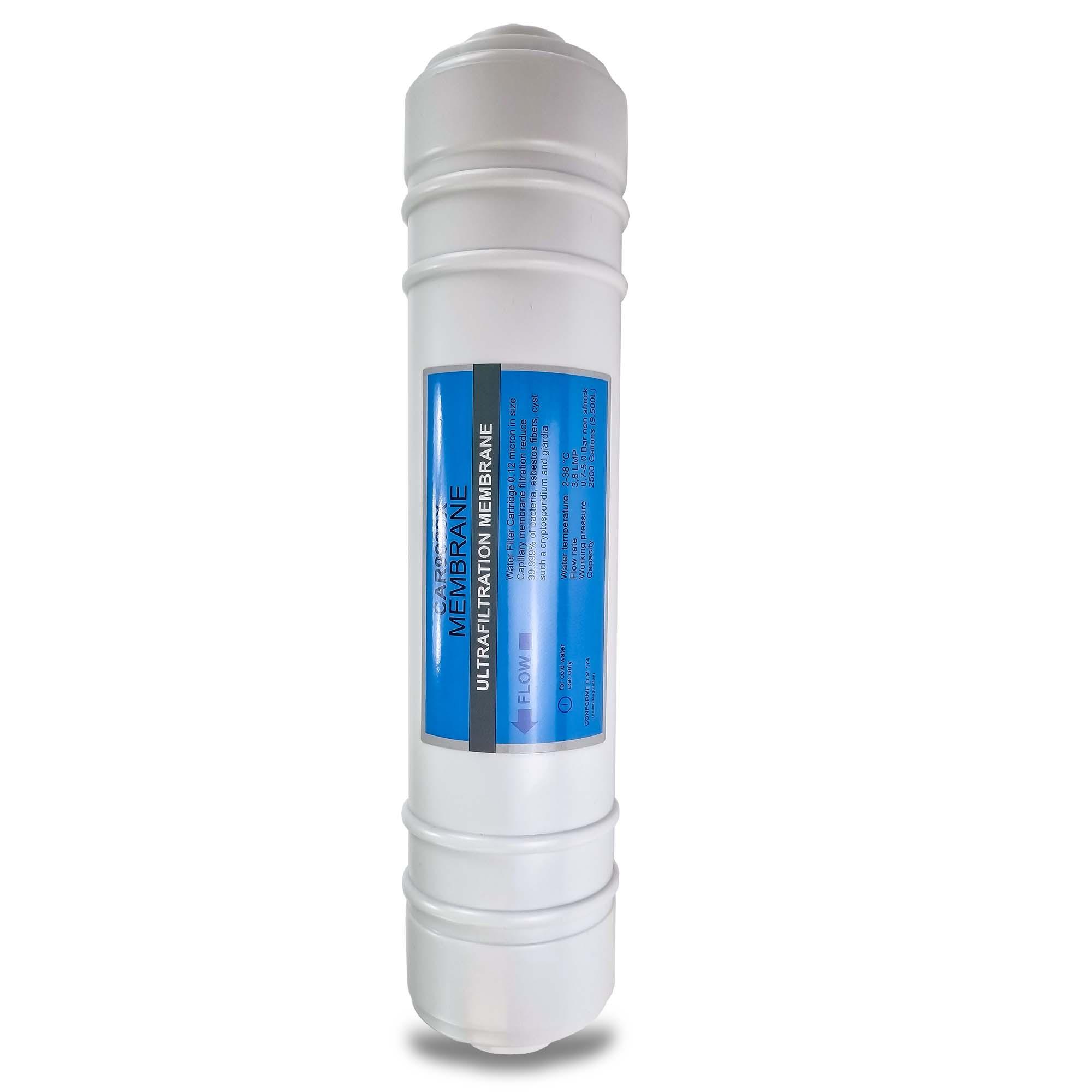 Ersatz Ultrafiltration Membrane für Umkehrosmose-Trinkwassersystem SPRUDELUX SENNA