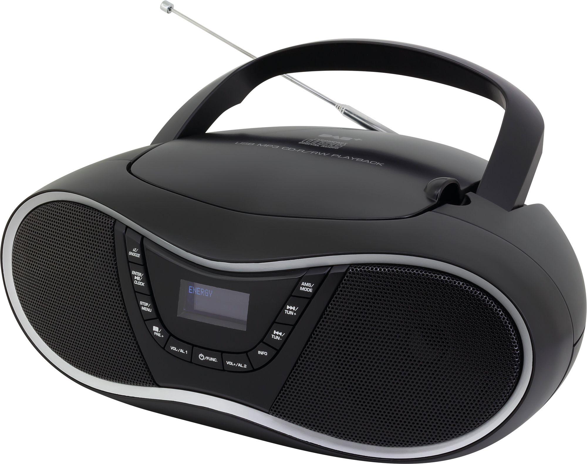 scd1990sw radiorekorder radio mit cd. Black Bedroom Furniture Sets. Home Design Ideas