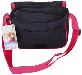 Die Eiskönigin - Frozen Handtasche Dunkelblau / Rosa
