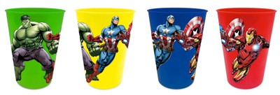 Marvel Avengers Trinkbecher 4er Set