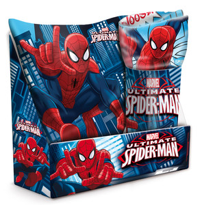 Marvel Spiderman Set Kissen & Fleece-Decke