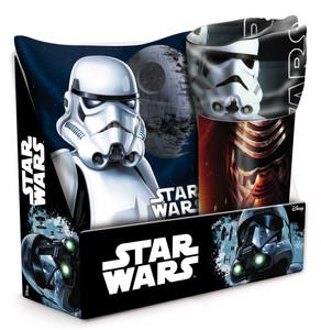 Star Wars SET Kissen & Fleece-Decke